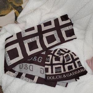 Dolce & Gabbana Inspired Hat & Scarf set